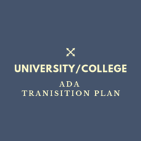 University and College ADA Transition Plan
